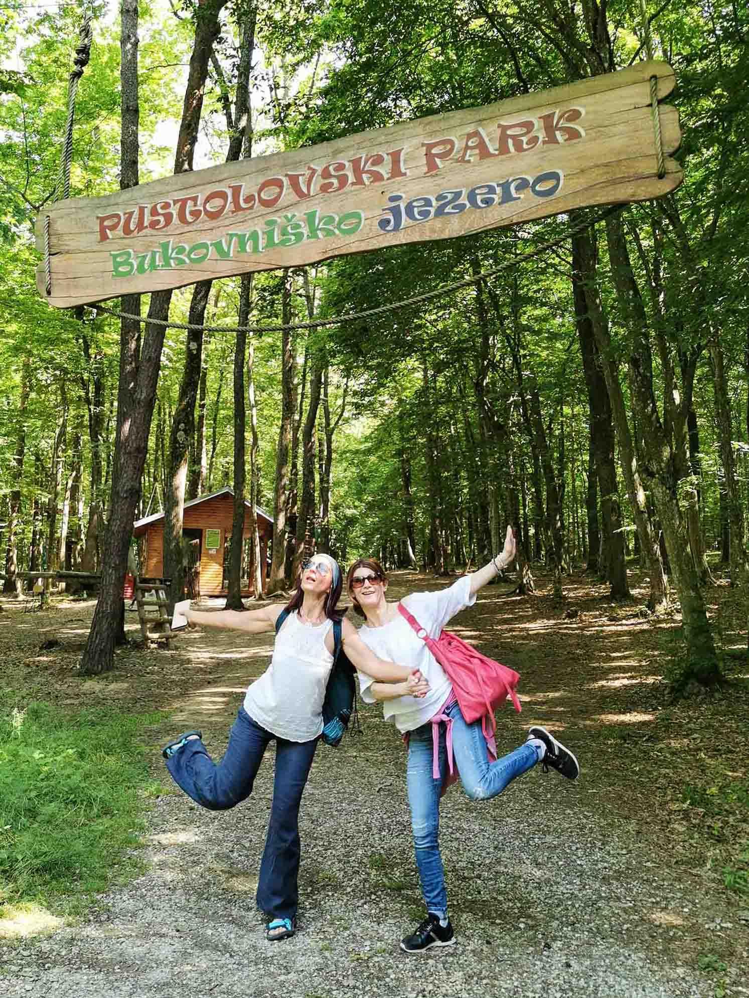 Pustolovski park - Bukovniško jezero