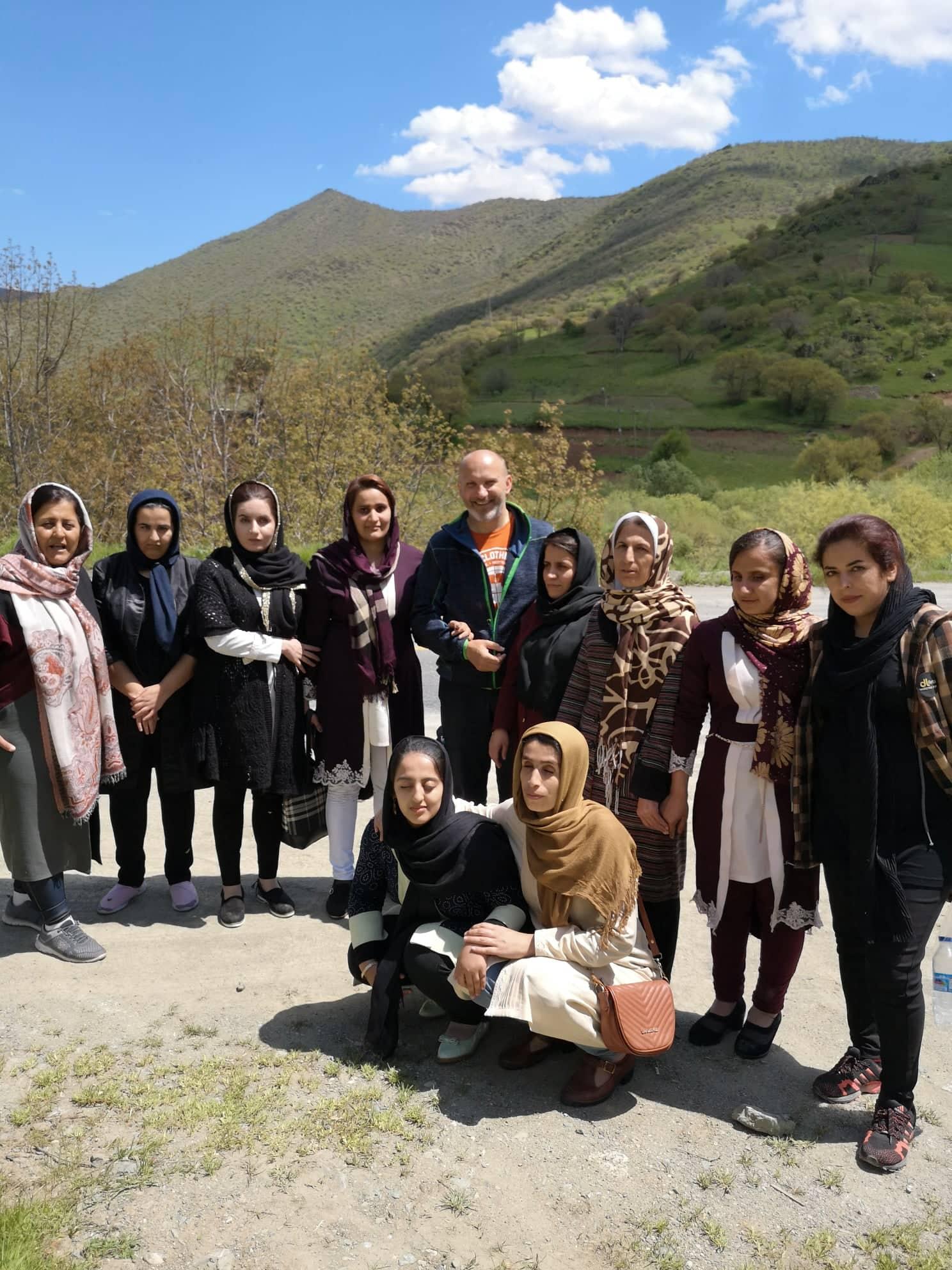 Blind Kurdish ladies, Kurdistan / Slijepe kurdistanke