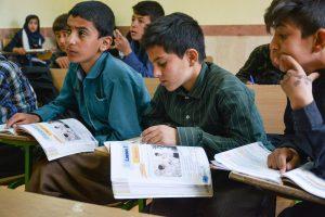 Djeca Kurdistana, dječaci u učionici / Children of Kurdistan, boys in the classroom