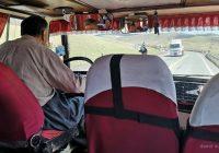 Mini bus in Kurdistan, Iran